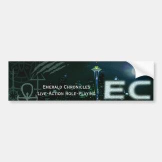 Pegatina para el parachoques de la EC Pegatina Para Auto
