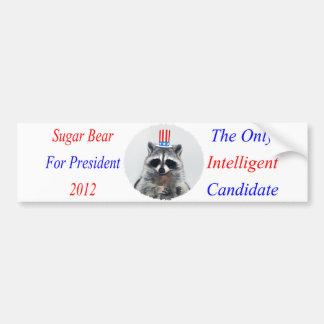 Pegatina para el parachoques de la elección presid pegatina para auto