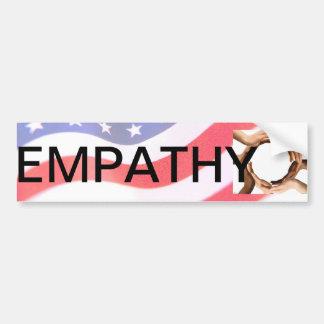 Pegatina para el parachoques de la empatía (amabil pegatina para auto