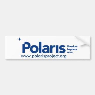 Pegatina para el parachoques de la estrella polar pegatina para auto