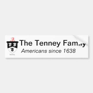 Pegatina para el parachoques de la familia de Tenn Etiqueta De Parachoque