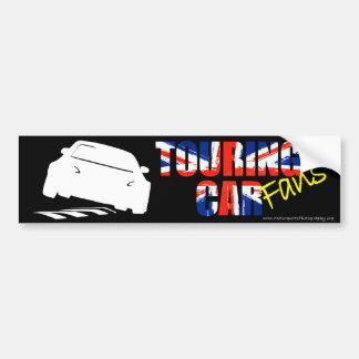 Pegatina para el parachoques de la fan de BTCC Pegatina Para Auto