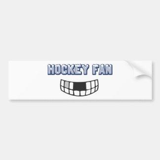 Pegatina para el parachoques de la fan de hockey pegatina para auto