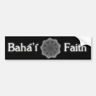 Pegatina para el parachoques de la fe de Baha i Etiqueta De Parachoque