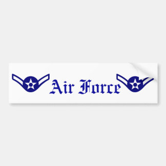 pegatina para el parachoques de la fila del aviado pegatina para auto