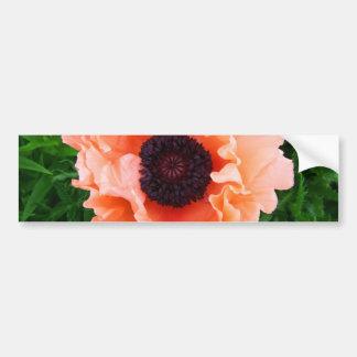 Pegatina para el parachoques de la flor de la amap pegatina para auto