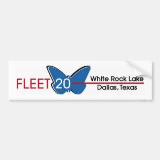 Pegatina para el parachoques de la flota 20 pegatina de parachoque