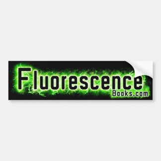 Pegatina para el parachoques de la fluorescencia pegatina para auto