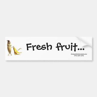 Pegatina para el parachoques de la fruta fresca pegatina para auto