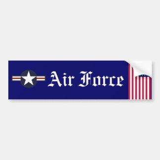 pegatina para el parachoques de la fuerza aérea pegatina para auto