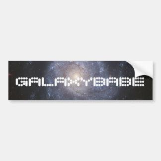 Pegatina para el parachoques de la galaxia con el  pegatina para auto