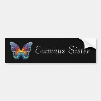 Pegatina para el parachoques de la hermana de Emma Pegatina De Parachoque