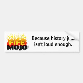 Pegatina para el parachoques de la historia pegatina de parachoque