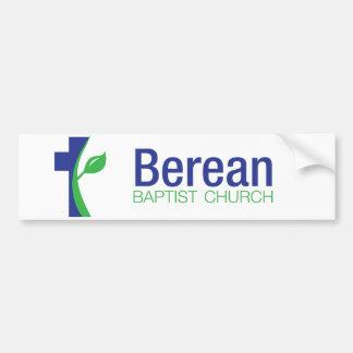 Pegatina para el parachoques de la iglesia baptist pegatina para auto