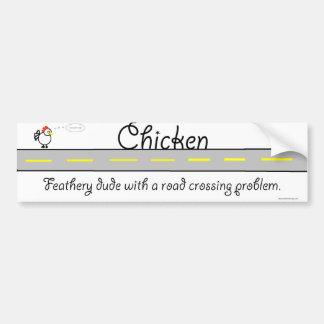 Pegatina para el parachoques de la imagen del poll pegatina para auto