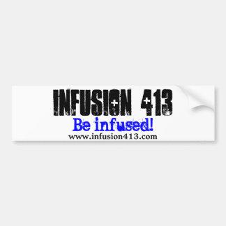 Pegatina para el parachoques de la infusión 413 pegatina para auto