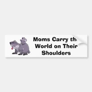 Pegatina para el parachoques de la koala pegatina para auto