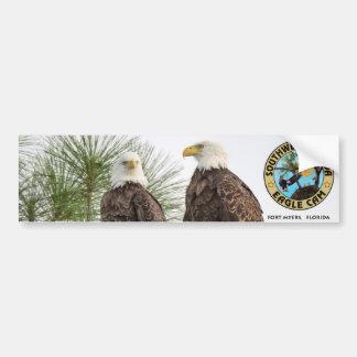 Pegatina para el parachoques de la leva de Eagle Pegatina Para Coche