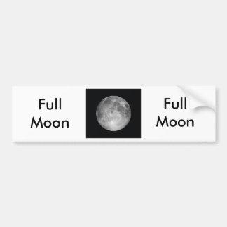 Pegatina para el parachoques de la Luna Llena Pegatina Para Auto