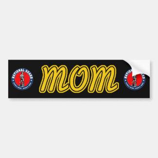 Pegatina para el parachoques de la mamá del Guardi Etiqueta De Parachoque
