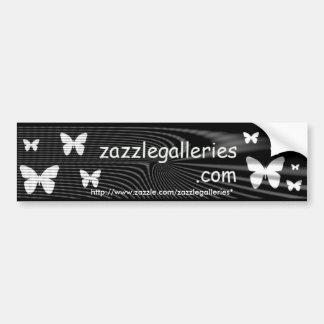 pegatina para el parachoques de la mariposa pegatina de parachoque