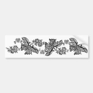 Pegatina para el parachoques de la mariposa de las pegatina para auto