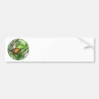 Pegatina para el parachoques de la mariposa de mon pegatina de parachoque