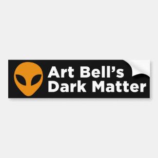 Pegatina para el parachoques de la materia oscura  etiqueta de parachoque