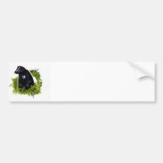 Pegatina para el parachoques de la mofeta pegatina de parachoque