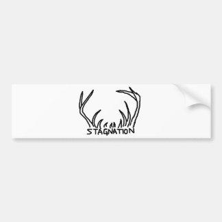 Pegatina para el parachoques de la nación del mach pegatina de parachoque