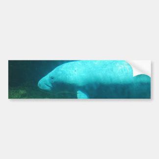 Pegatina para el parachoques de la nadada del Mana Etiqueta De Parachoque
