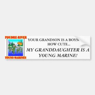Pegatina para el parachoques de la nieta de PRYM Pegatina Para Auto