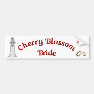 Pegatina para el parachoques de la novia de la flo pegatina para auto