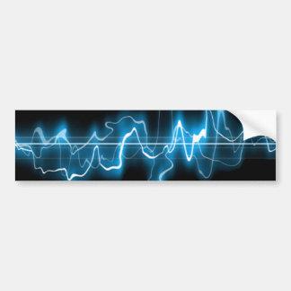 Pegatina para el parachoques de la onda acústica pegatina para auto
