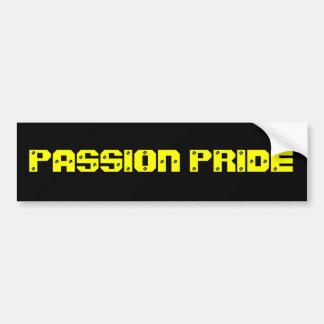 Pegatina para el parachoques de la pasión de Pitts Pegatina Para Auto