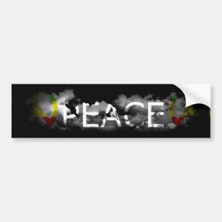 Pegatina para el parachoques de la paz pegatina para auto