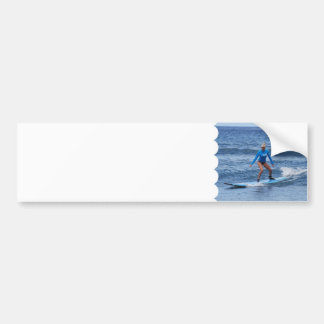 Pegatina para el parachoques de la persona que pra pegatina de parachoque