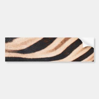 Pegatina para el parachoques de la piel de la cebr pegatina para auto