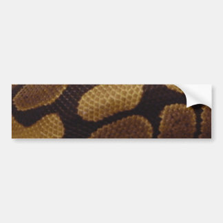 Pegatina para el parachoques de la piel de serpien pegatina de parachoque
