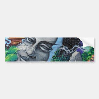 Pegatina para el parachoques de la pintada de Mont Etiqueta De Parachoque