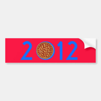 Pegatina para el parachoques de la pizza de Herman Pegatina Para Auto
