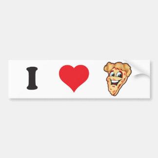 Pegatina para el parachoques de la pizza pegatina para auto