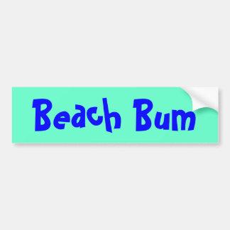 Pegatina para el parachoques de la playa pegatina para auto