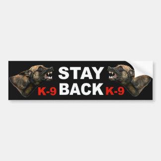 Pegatina para el parachoques de la policía K9 de M Etiqueta De Parachoque