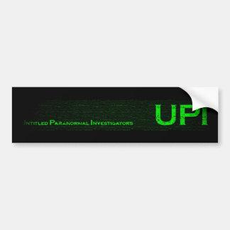 Pegatina para el parachoques de la PUI Pegatina Para Auto