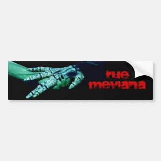 Pegatina para el parachoques de la ruda M Pegatina Para Auto