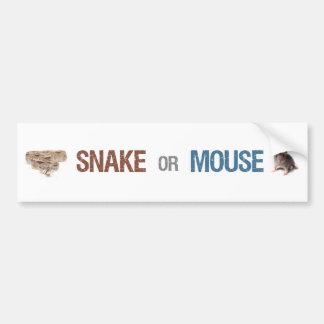 Pegatina para el parachoques de la serpiente o del pegatina de parachoque