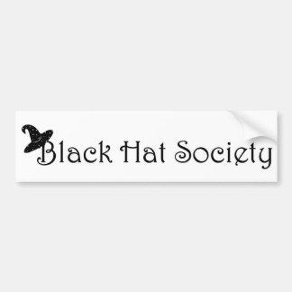 Pegatina para el parachoques de la sociedad del go etiqueta de parachoque