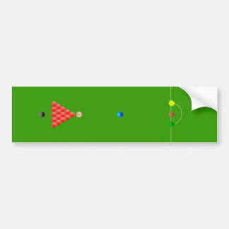 Pegatina para el parachoques de la tabla de billar pegatina de parachoque