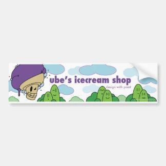Pegatina para el parachoques de la tienda del hela pegatina para auto